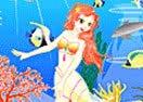A Decoração da Sereia no Mar