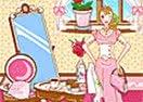 A Decoração do Salão de Chá
