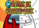 Among Us Coloring Book: Paint by Numbers