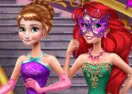 Anna & Ariel Princess Ball Dress Up