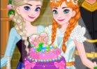 Jogar Anna Wedding Cake and Decor