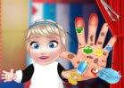 Jogar Baby Elsa Hand Doctor