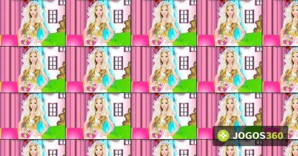 jogo barbie bride dress up no jogos 360