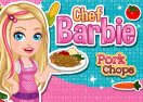 Barbie Chef Pork Chops