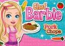 Barbie Chef Pork Chops