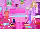 Barbie Messy Bathroom Cleaning