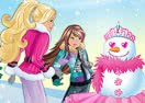 Barbie SnowGirl Glam Up