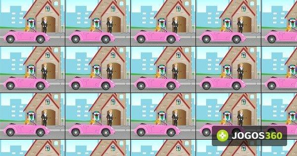 jogo barbie wedding rush no jogos 360