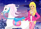 Barbie's Winter Pony