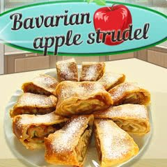 Bavarian Apple Strudel