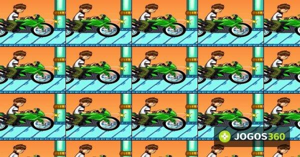 jogo ben 10 bike remix no jogos 360