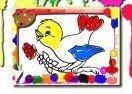 Birds Coloring Online