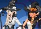 Black and White Halloween