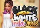 Black And White Insta Divas