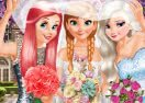 Bride and Bridesmaids Dress Up