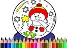BTS Christmas Coloring