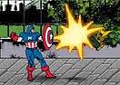 Captain America Red Skull and Crossbones