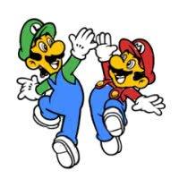 Coloring Mario