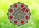 Colorir a Mandala Africana