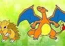 Colorir Charizard e Sandslash
