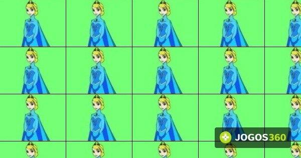 Jogo Colorir Elsa De Frozen No Jogos 360