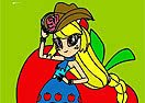 Colorir Equestria Applejack