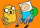 Colorir Finn e Jake