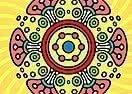 Colorir Mandala de Amor