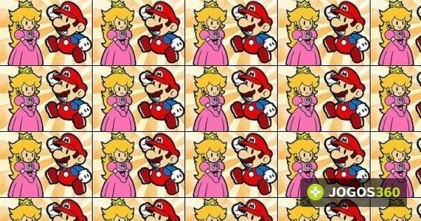Jogo Colorir Mario E A Princesa Peach No Jogos 360