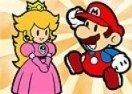 Colorir Mario e a Princesa Peach