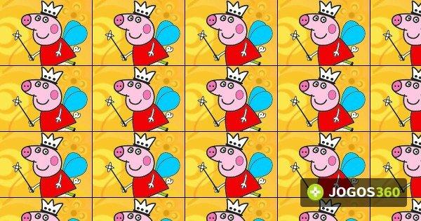 Jogo Colorir Peppa Pig Fada No Jogos 360