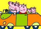 Colorir Peppa Pig Viajando