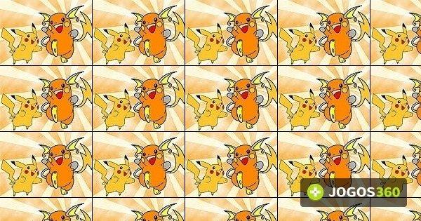 Jogo Colorir Pikachu E Raichu No Jogos 360