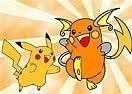 Colorir Pikachu e Raichu