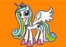 Colorir Princesa Celestia