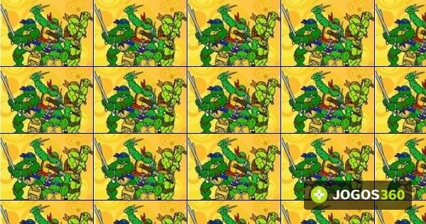 Jogo Colorir Tartarugas Ninja No Jogos 360