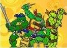 Colorir Tartarugas Ninja