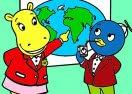 Colorir Tasha e Pablo