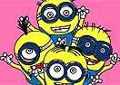Colorir Torcida Minion