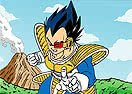 Colorir Vegeta de Dragon Ball