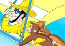 Curious George Sliding Puzzle