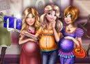 Disney Pregnant Selfie