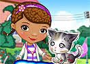 Doc McStuffins Stray Kitten Care