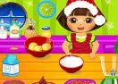 Dora Cooking Christmas Competition