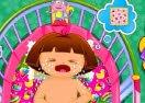 Dora Diaper Change