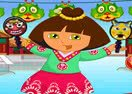 Dora in China Dress Up