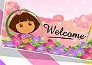 Dora Party Invitation