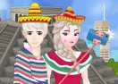 Elsa and Jack Selfie in Mexico