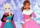 Elsa and Moana's Winter Vacation