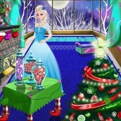Elsa Christmas Room Decoration